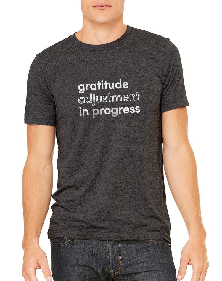 Unisex Gratitude Triblend Tee - Breathe in Detroit