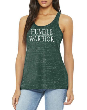 Women's Humble Warrior Marble Flow Tank - Breathe in Detroit