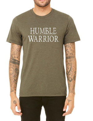 Unisex Humble Warrior Triblend Tee - Breathe in Detroit