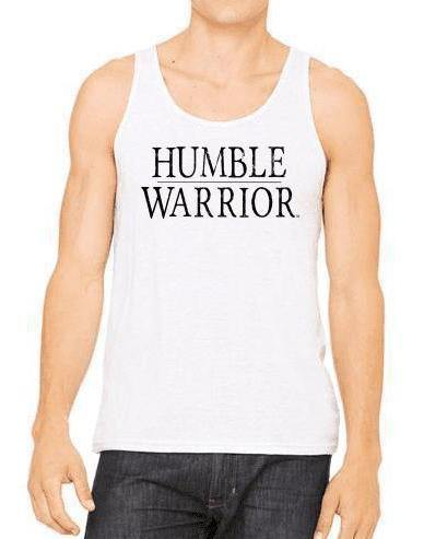"Unisex ""Humble Warrior"" Triblend Tank - Breathe in Detroit"