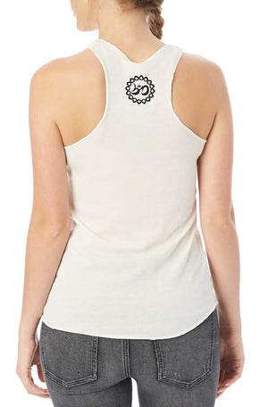 Women's Music Mandala Eco Fly Tank - Breathe in Detroit