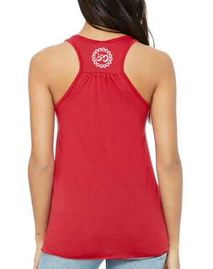Women's Kindness Is Really Hot Red Flow Tank - Breathe in Detroit