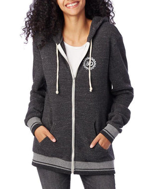 Unisex Listen to Your Soul Eco-Fleece Zip Hoodie - Breathe in Detroit