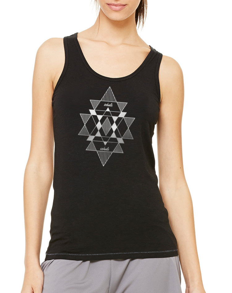 Women's Mantra Bamboo Sport Tank - Breathe in Detroit
