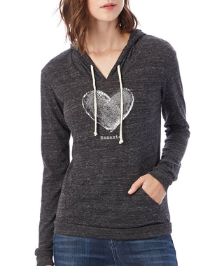 Women's Namaste Eco-Jersey Pullover Hoodie - Breathe in Detroit