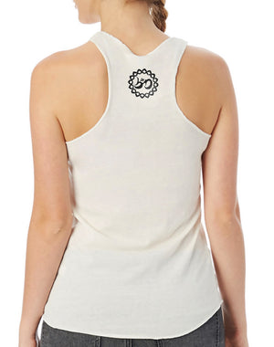 Women's Namaste Eco Fly Tank - Breathe in Detroit