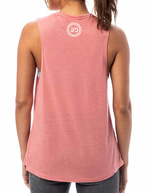 Women's Already Perfect Slinky Muscle Tank - Breathe in Detroit