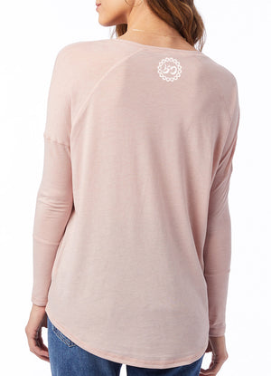 Women's Go Love Yourself Eco Gauze Tunic - Breathe in Detroit