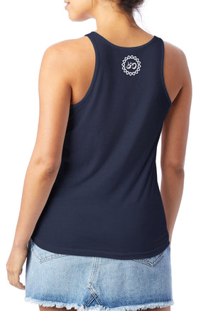 Women's Detroit Runs on Soul Slinky Jersey Tank - Breathe in Detroit