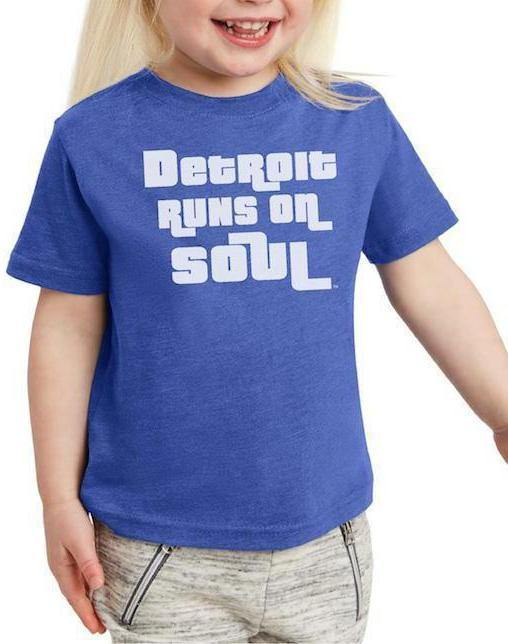 Toddler Detroit Runs on Soul Tee - Breathe in Detroit