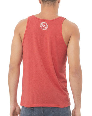 Unisex Here Comes The Sun Tank - Breathe in Detroit