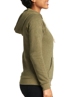 Women's Thrive Favorite Fleece Zip Hoodie - Breathe in Detroit