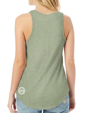 Women's Thrive Vintage Eco Tank - Breathe in Detroit