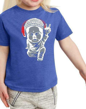 Toddler Motown Little Buddha Tee - Breathe in Detroit