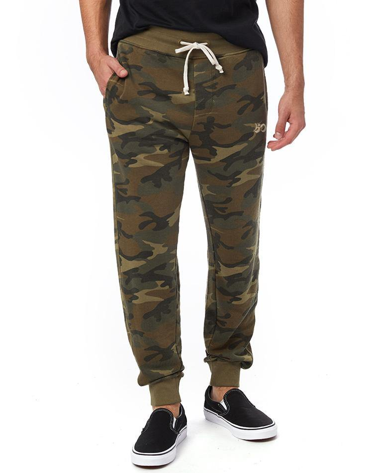 Unisex Camo French Terry Jogger Lounge Pants - Breathe in Detroit