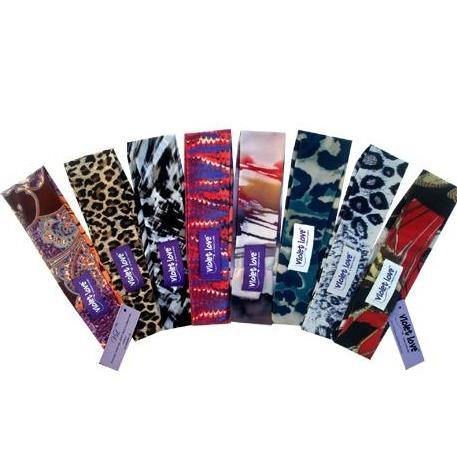 Violet Love Headband 3-Pack - Breathe in Detroit