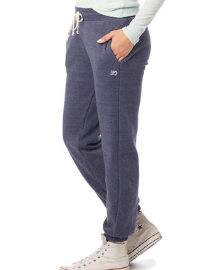 Women's Classic Eco-Fleece Heavyweight Sweatpants - Breathe in Detroit