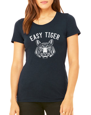 Women's Easy Tiger GameDay Tee - Breathe in Detroit
