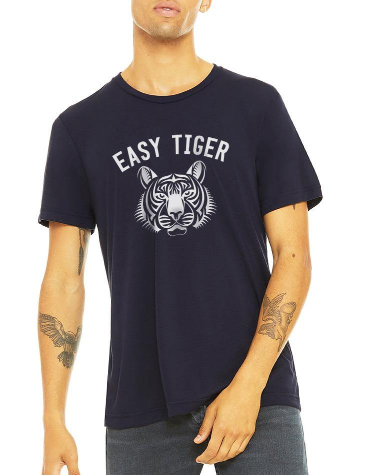 Unisex Easy Tiger GameDay Tee - Breathe in Detroit