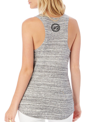 Women's Yoga Saves Eco-Jersey Fly Tank - Breathe in Detroit
