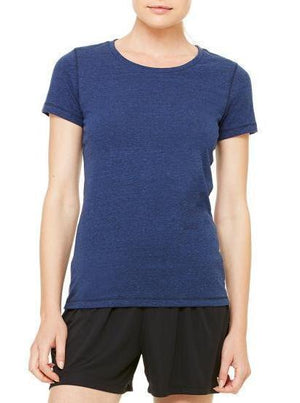 Women's Running Zen Performance Triblend Tee - Breathe in Detroit