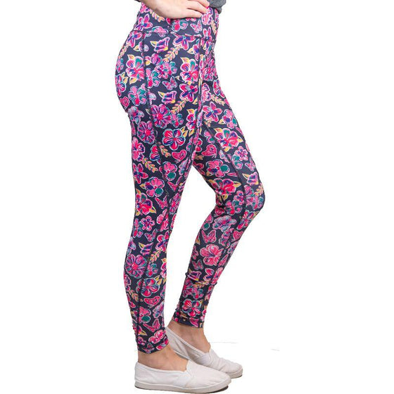 Simply Southern Butterfly Sport Leggings