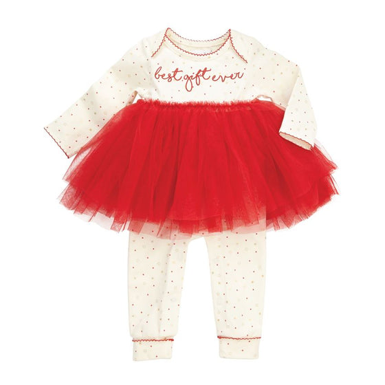 Best Gift Ever Red Tutu One-Piece