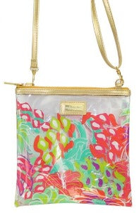 Simply Southern Jungle Cross Cosmo Clear Small Bag