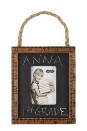 Chalk Board Ruler Picture Frame