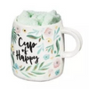 Ceramic Cup and Sock Gift Set - Cup of Happy