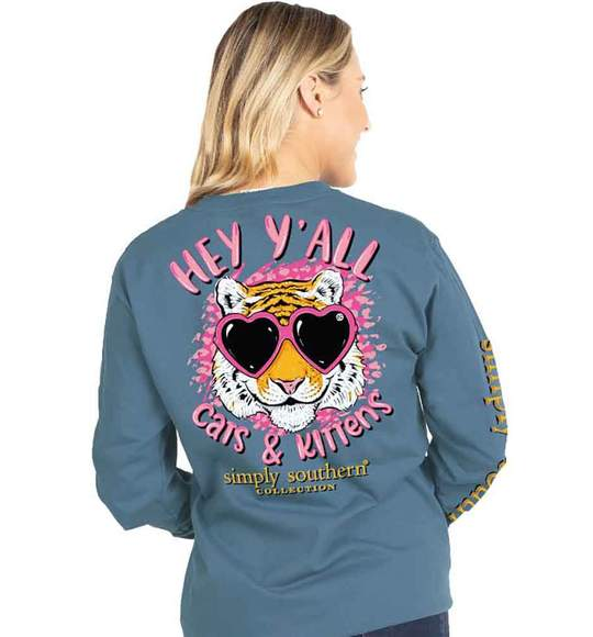 Simply Southern Cats & Kittens Long Sleeve T-Shirt