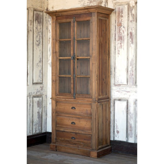 Reclaimed Pine Archive Cabinet