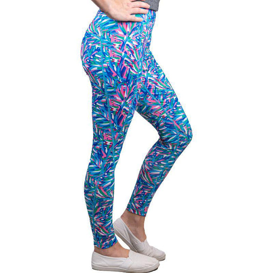 Simply Southern Abstract Sport Legging