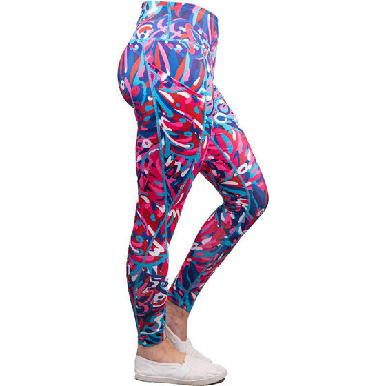Simply Southern Rainforest Sport Leggings