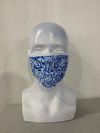 Paisley Face Mask Dry Fit Silk Spandex Polyester