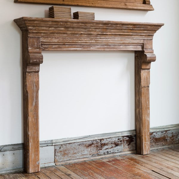 PRE-ORDER 8/9/19 Reclaimed Pine French Country Mantel