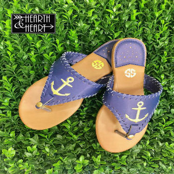 Anchor Sandals 40% OFF 💰