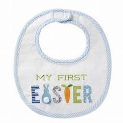 Easter Baby Bib - My First Easter