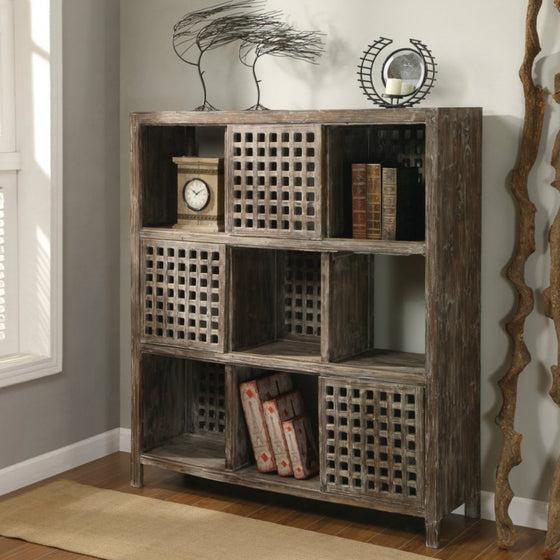 Solid Wood Wall Unit