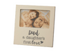 Plaque Frame - Dad A Daughter's First Love