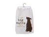Kitchen Dish Towel - I Like Big Mutts And I Cannot Lie