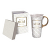 Mug & Gift Box Set - Best Mom Ever - Mother's Day Travel Mug Gift