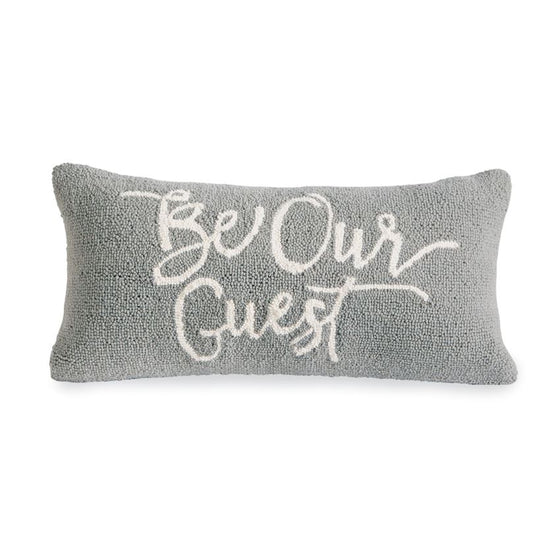 Be Our Guest Hooked Pillow