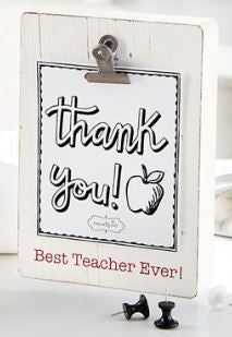 Best Teacher Clip Frame