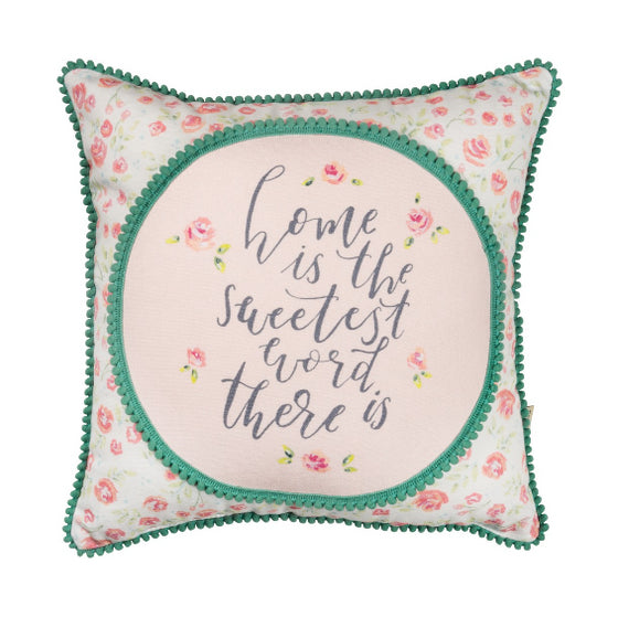 Sweetest Word Pillow