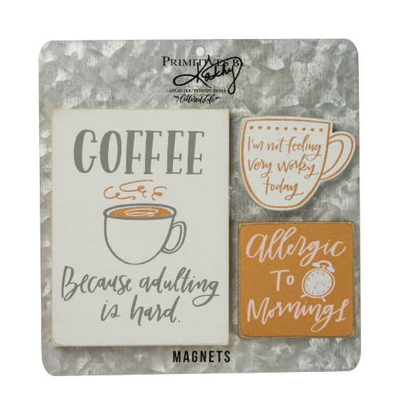 Coffee Magnet Set