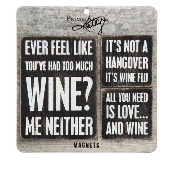 Wine Magnet Set