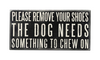 Chew On Box Sign