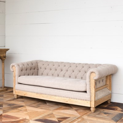 Crest Tufted Sofa