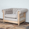 Crest Tufted Chair